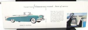 1956 Dodge Dealer Pocket Sales Brochure Full Line Coronet Royal V-8 Lancer