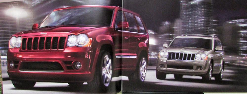 Jeep Grand Cherokee Laredo Limited Overland SRT8 Original Sales