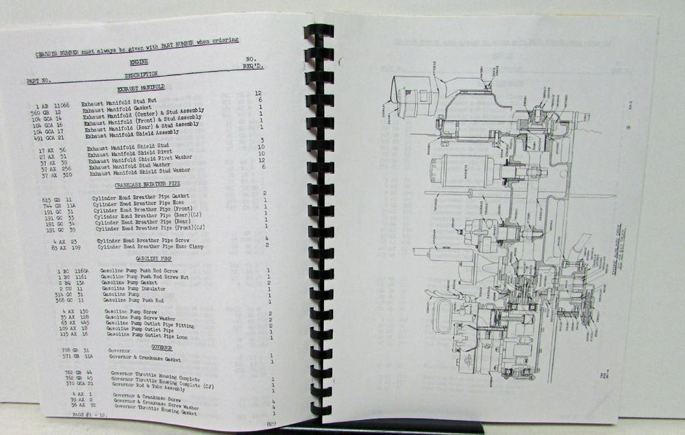 1937 1938 1939 1940 1941 Mack FH Truck W/ EO EP EY Engine #796 Parts Mack Engine Parts Diagram on