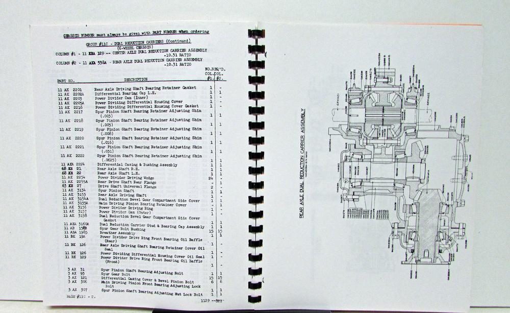 Mack Engine Parts Diagram on