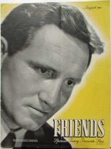 Friends Magazine Aug 1941 Issue Spencer Tracy