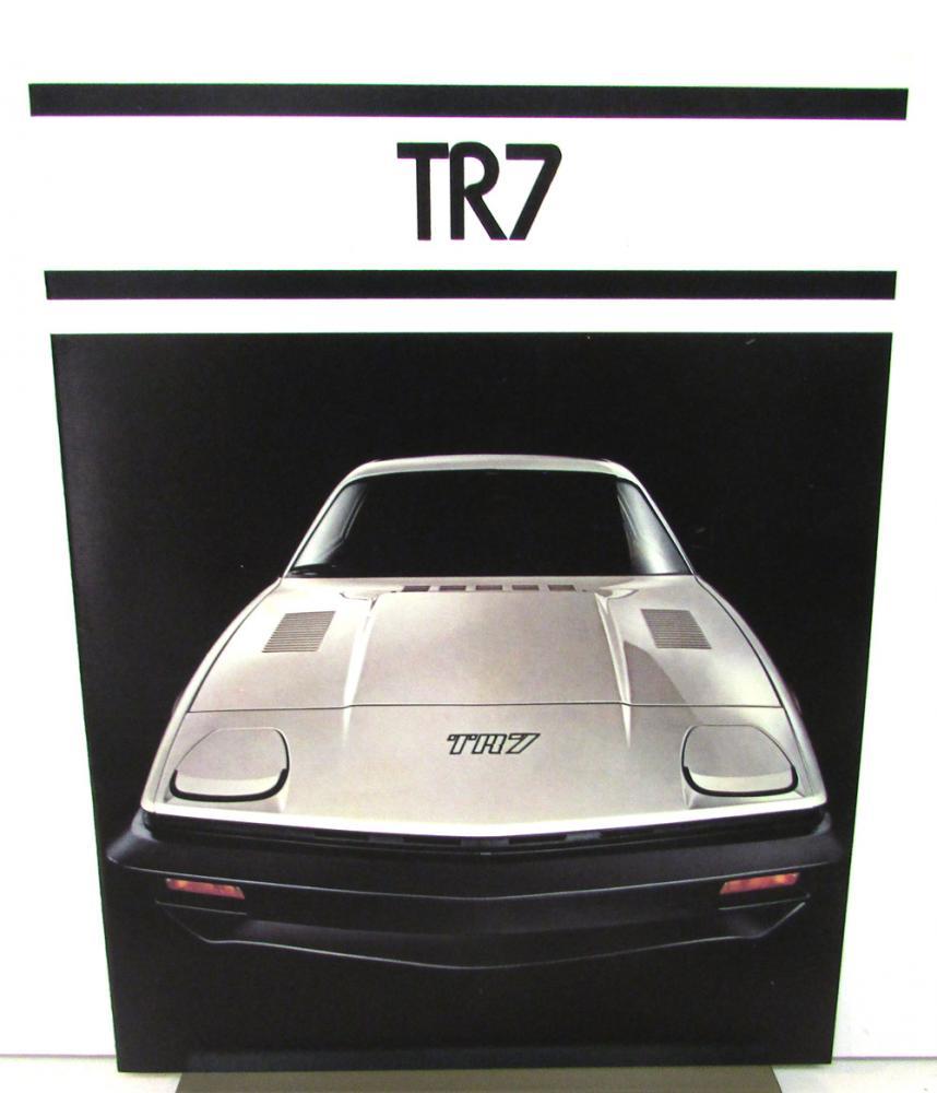 1977 Triumph TR7 Sales Brochure Specs Features British Leyland