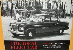 1960 Studebaker Lark 6 & V8 Deluxe & Regal With Economiler Sales Folder Original