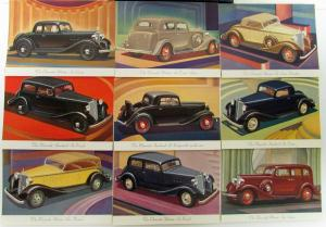 1933 Chevrolet Wallet Style Sales Brochure With 11 Plates & Sales Brochure ORIG