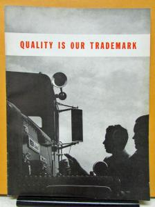 1955 REO Truck Magazine Quality Is Our Trademark