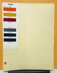 1960 1961 1962 1963 REO Truck Paint Chips