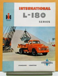 1950 International IHC Truck Canadian Model L 180 181 182 184 Brochure Specs