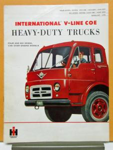 1956 International COE Model VCO 190 200 220 VCOF 190 200 Sales Brochure