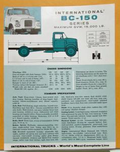 1959 international harvester truck model bcf 182 for Bcf international piscine