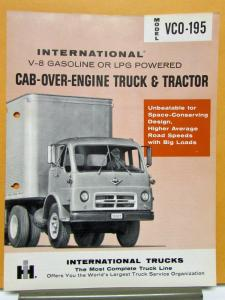 1959 International Harvester Truck Model VCO 195 Specification Sheet