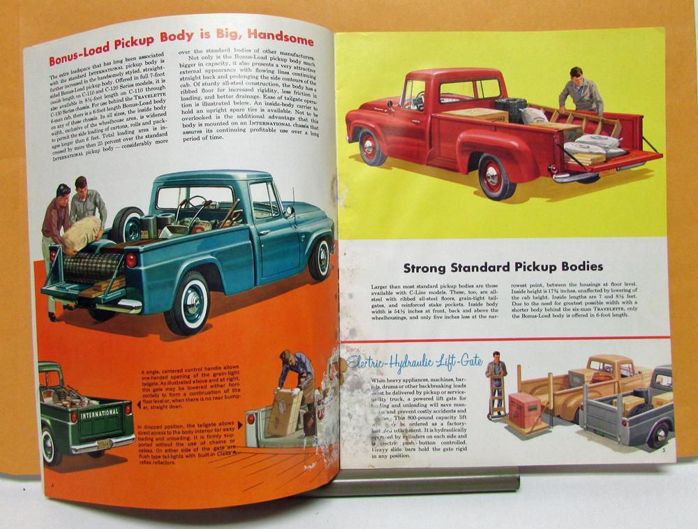 1961 International Harvester Truck Model C 110 120 130 Sales