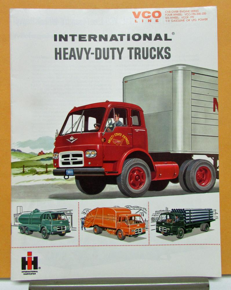 1961 International Harvester Truck Model VCO 190 200 220 VCOF 190 Sales Brochure