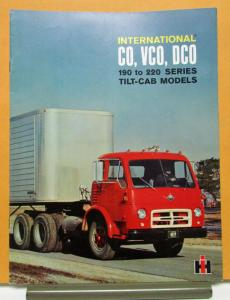 1963 International Harvester  Model CO VCO DCO Tilt Cab Sales Brochure