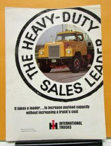 1962 1963 1964 1965 1966 International IHC Truck Model 1900 2000 Sales Brochure