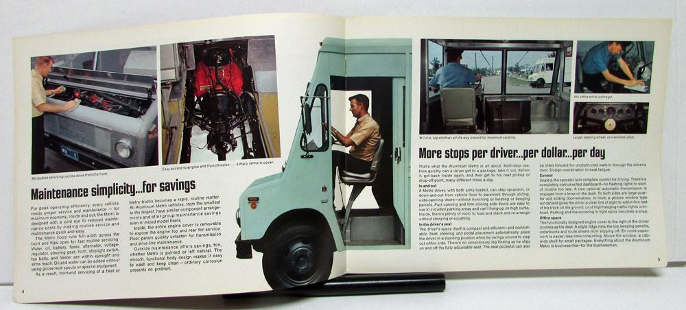 1968 International Harvester Metro Truck Model MA 1200 1500