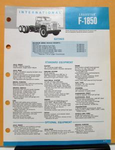 international Loadstar Service, Shop & Owner's Manuals | Troxel's