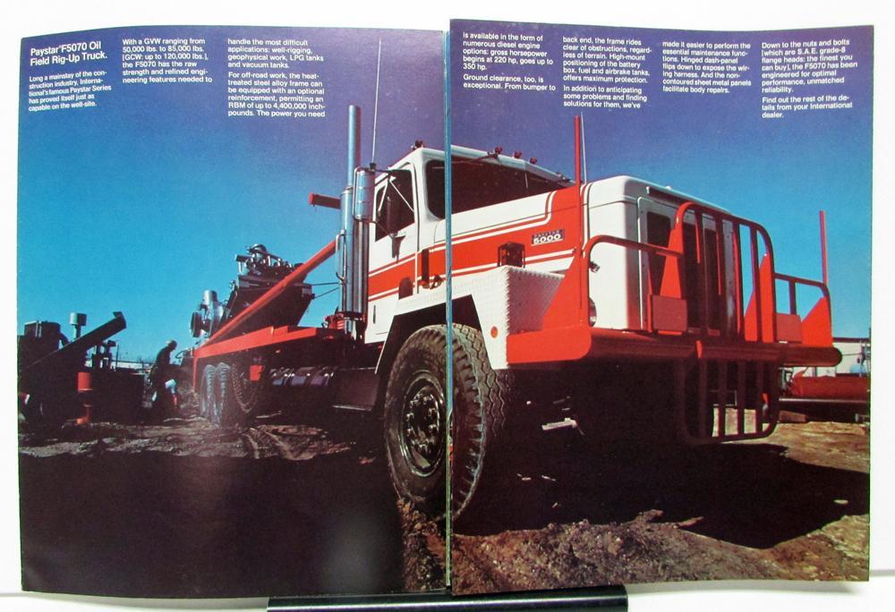 1977 International Harvester Truck Model 1850 COF 5470 F ...