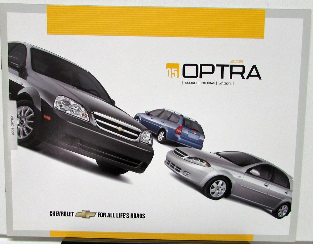 2005 Chevrolet Optra Canadian Sales Brochure Sedan Wagon Optra5
