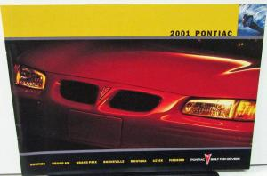 2001 Pontiac Canadian Dealer Brochure English Text Full Line Firebird Grand Am