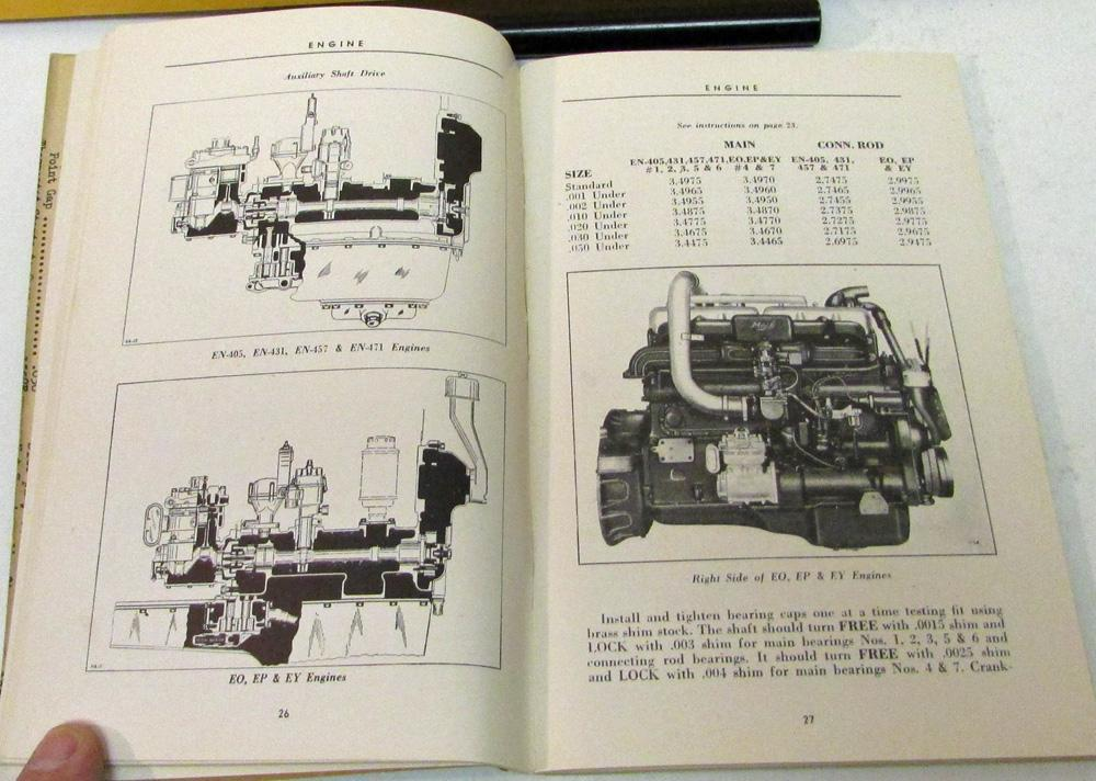 1946 1956 mack truck l series maintenance manual operation owners rh autopaper com mack truck manuals download mack truck manual