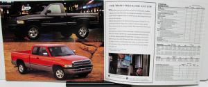 1997 Chrysler Plymouth Dodge Truck Jeep Eagle Canadian Sales Brochure