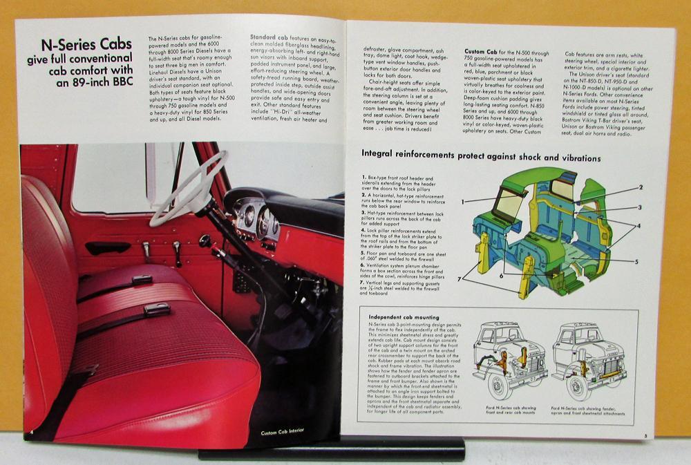 1969 ford trucks n c series 500 550 600 700 750 850 950 sales1969 ford trucks n c series 500 550 600 700 750 850 950 sales brochure revised