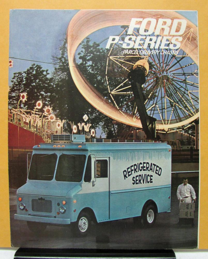 P-5000 1966 Ford Parcel Delivery Truck Brochure P-100