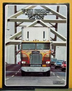 1974 White Freightliner Truck A Series Suspension Sales Brochure
