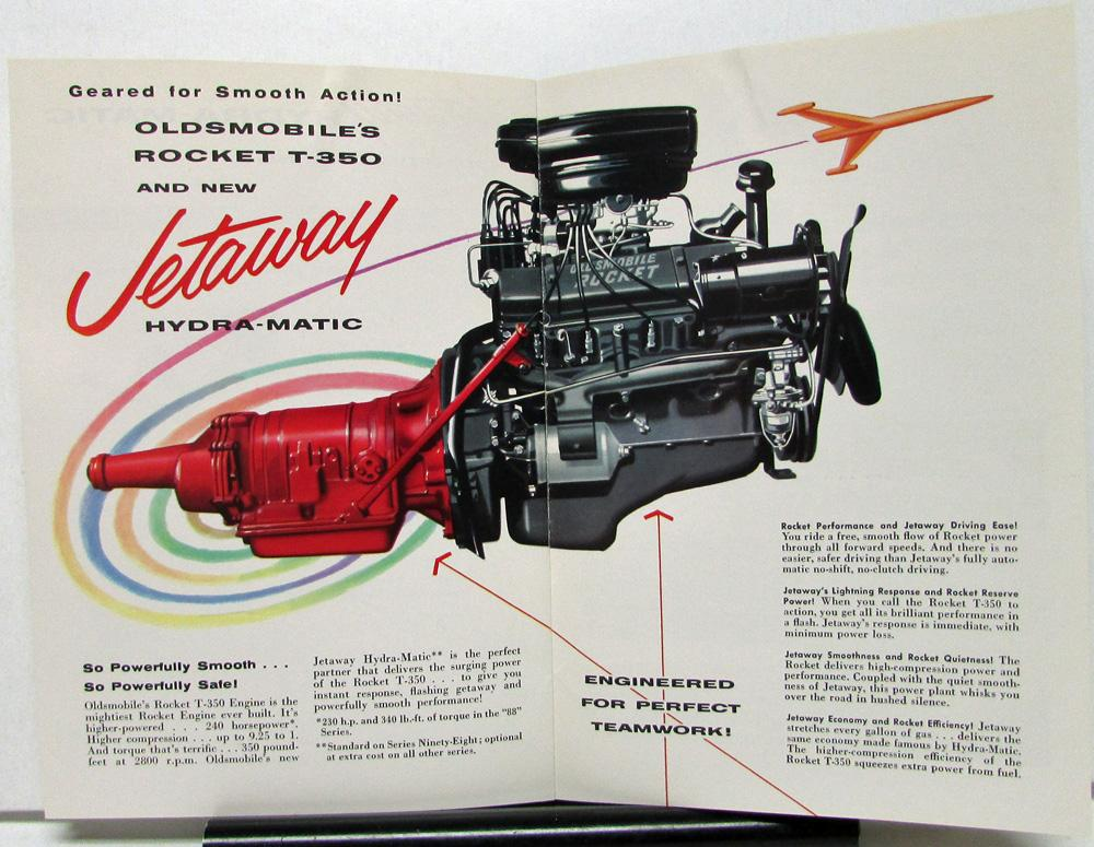 1956 Oldsmobile Hydramatic Jetaway Transmission Engineers