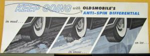 1959 60 61 oldsmobile anti spin differential sales folder original. Black Bedroom Furniture Sets. Home Design Ideas