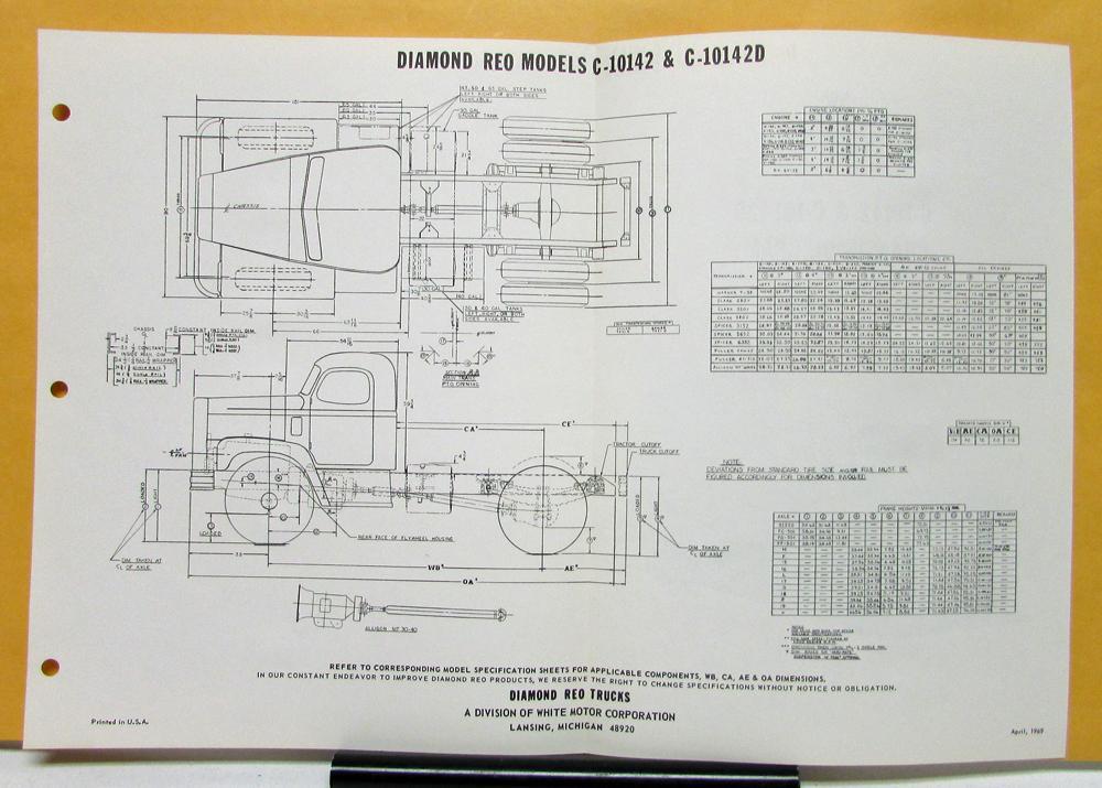 1951 Reo Wiring Diagram