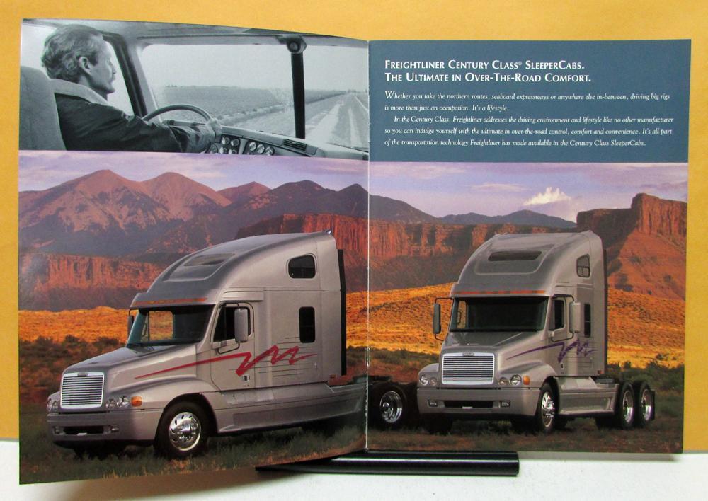 1999 Freightliner Trucks Century Class Sleeper Cabs Sales