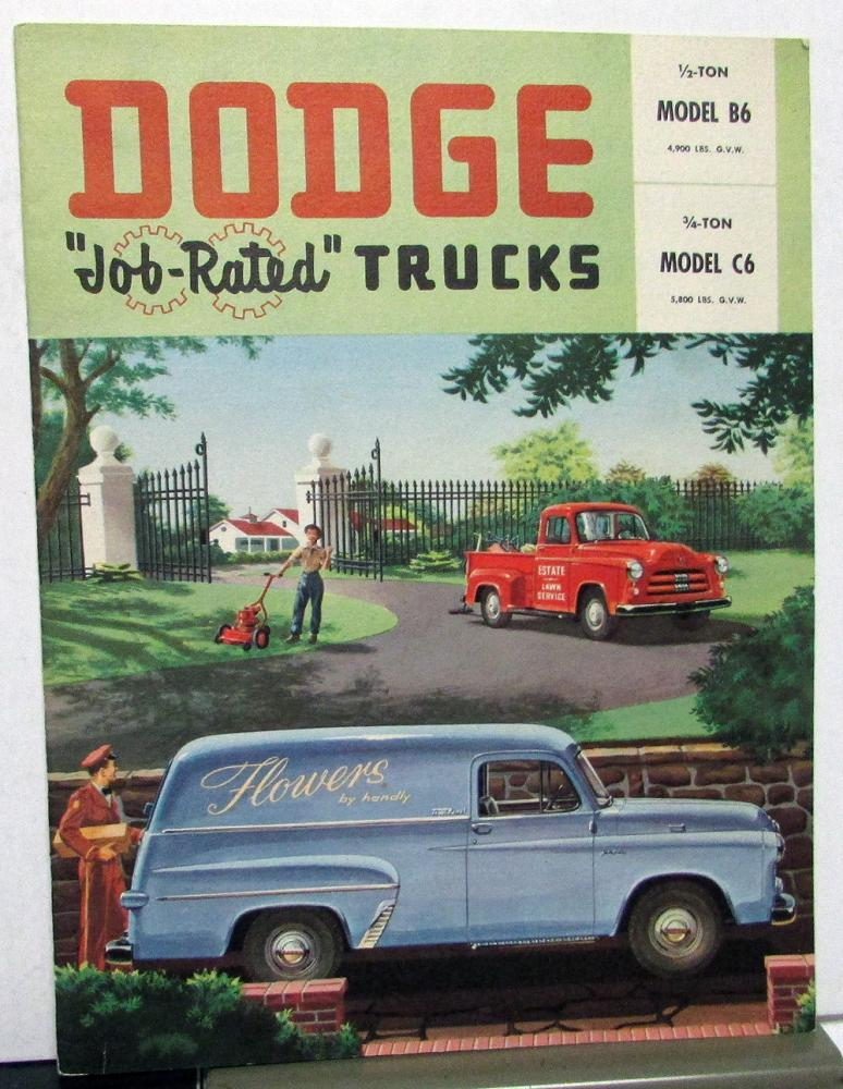 1959 Dodge Trucks Model 800 Model 900 Dealer Sales Brochure
