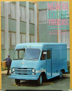 1961 Dodge Fwd Control Delivery Truck Model P200 P300