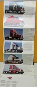 1987 Peterbilt Truck Full Line Sales Brochure