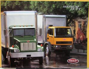2001 Peterbilt Medium Duty Dealer Sales Brochure