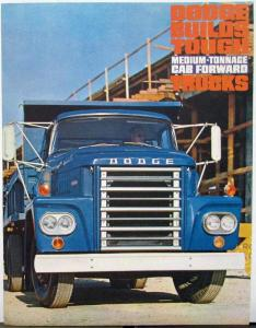 1963 Dodge Truck Medium Ton Cab Forward C500 600 700 Sales Folder Rev 9 62