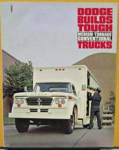 1965 Dodge Truck Conventional Medium Tonnage D Series Sales Folder Original