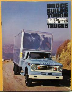 1965 Dodge Truck Medium Tonnage Conventional D400 D500 D600 D700 Sales Brochure