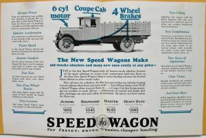 reo speed wagon truck sales brochure coal delivery