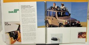 1997 Chrysler Concept Cars Foreign Canadian? Press Kit Media Release French Text