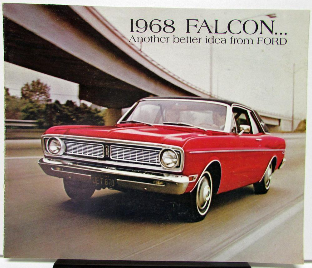 Thrifty Auto Sales >> 1968 Ford Falcon Another Better Idea from Ford Sales Brochure Futura