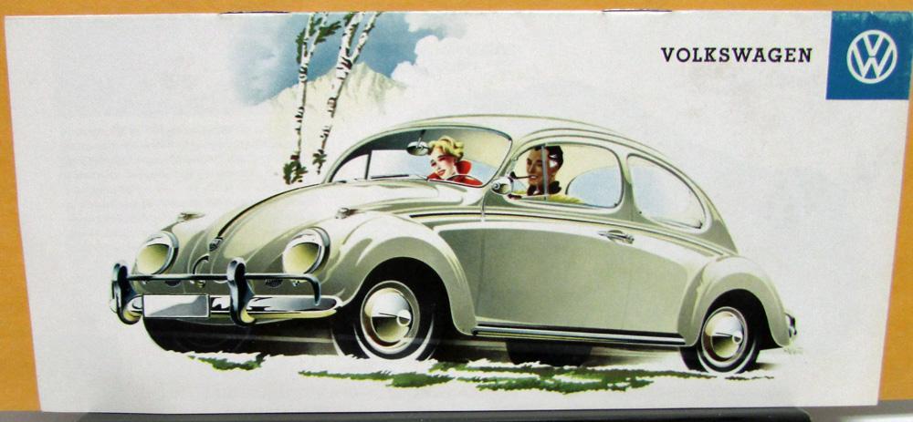 advertising VW beetle 50s