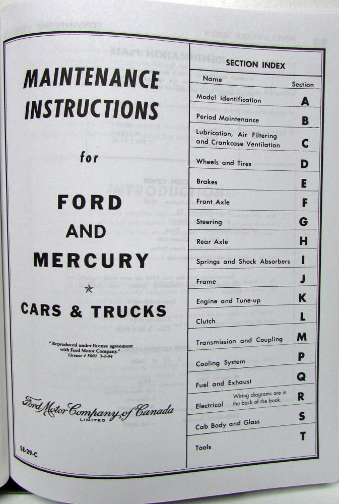 1942 1946 1947 1948 ford mercury lincoln shop manual rh autopaper com
