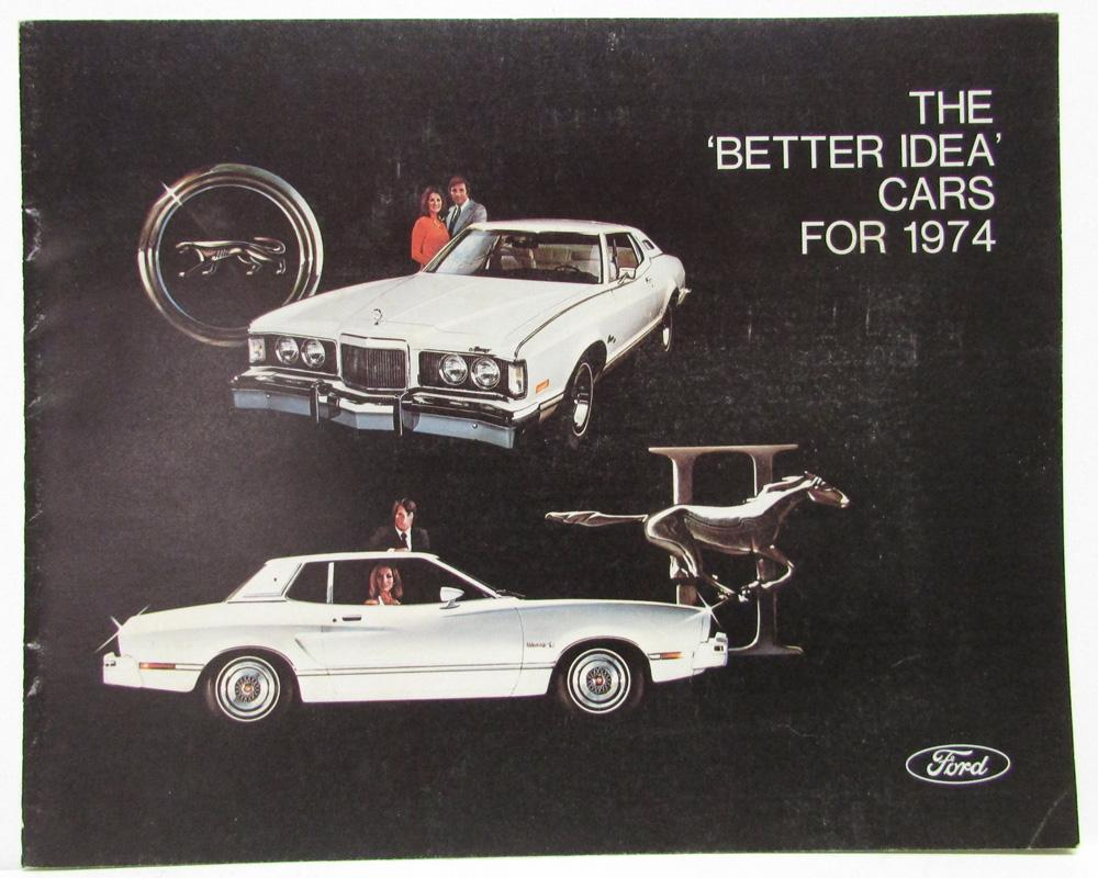 1974 ford lincoln mercury sales brochure to stockholders mustang 1974 ford lincoln mercury sales brochure to stockholders mustang cougar mark iv publicscrutiny Gallery