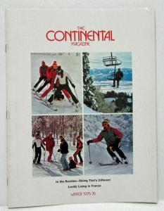 Winter 1975-76 The Continental Magazine Luxurious Options