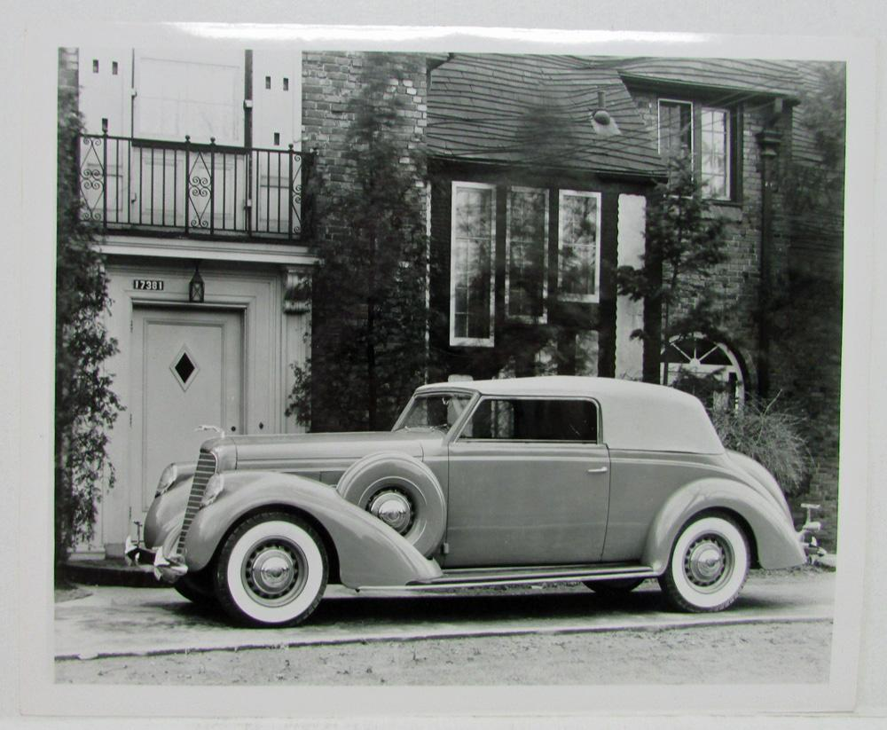 1937 Lincoln Brunn 2 Door Sedan Press Photo