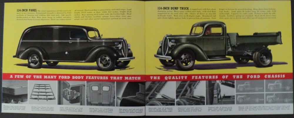 1939 Ford V8 Trucks 3 Engines Express Panel Stake Platform ...