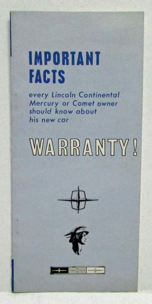 1965 To 1970 Lincoln Mercury Important Facts About