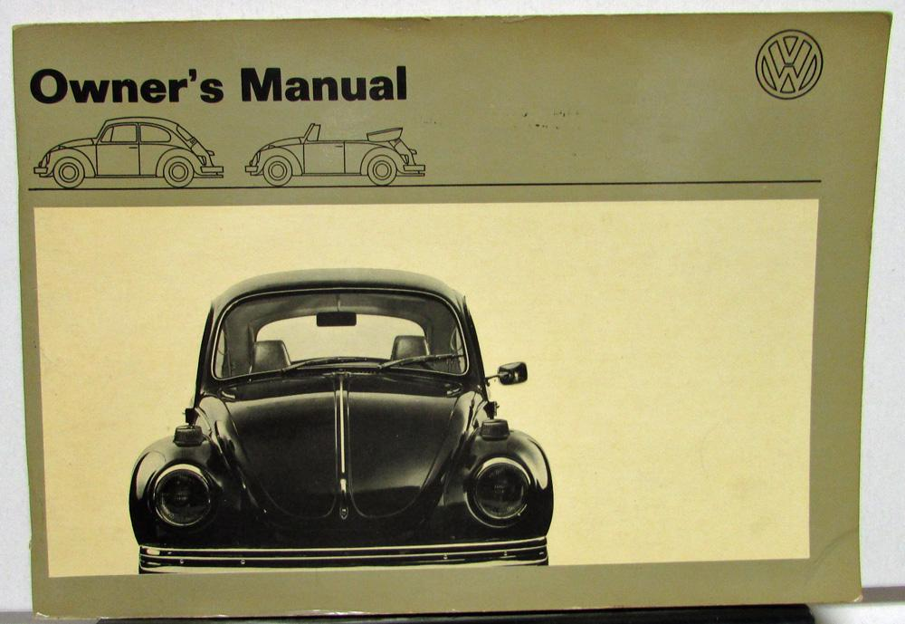 1971 volkswagen vw beetle owners manual care operation convertible rh autopaper com 2006 vw beetle repair manual 2006 volkswagen beetle owners manual pdf